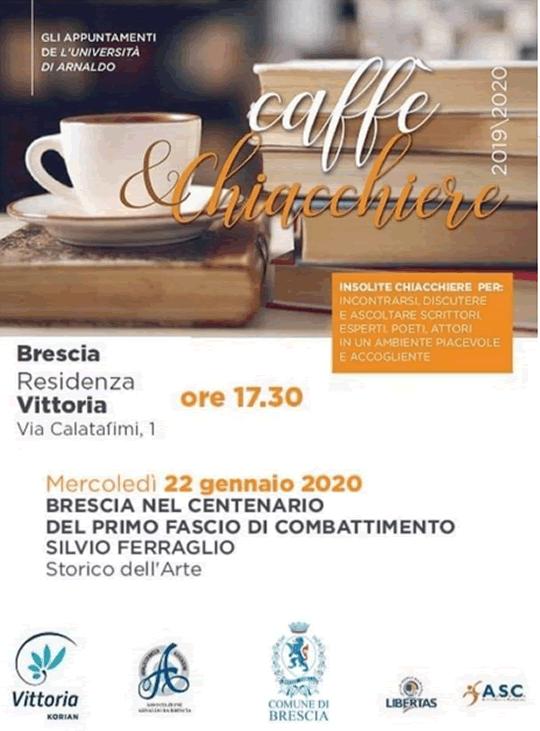 Caffè e chiacchiere a Brescia