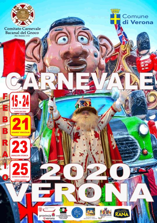 Carnevale 2020 Verona