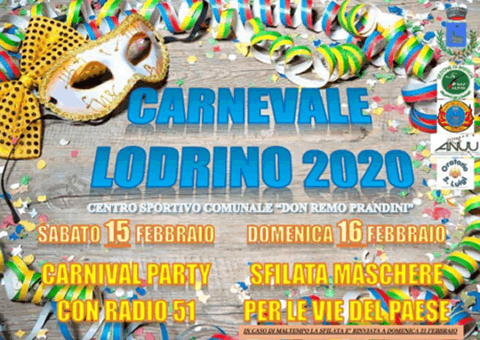 Carnevale a Lodrino