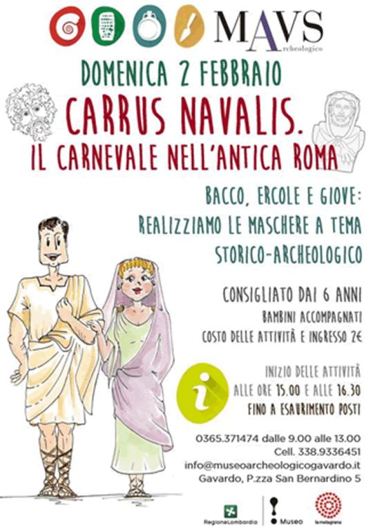 Carrus Navalis il Carnevale nell'Antica Roma a Gavardo