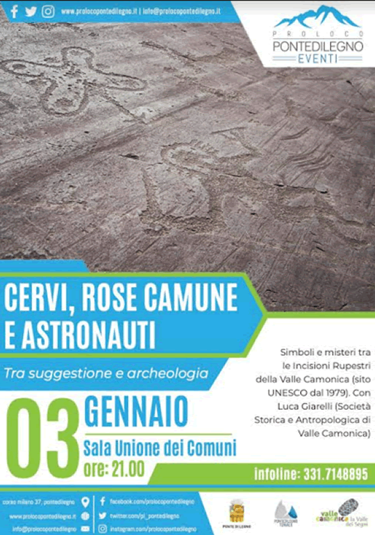 Cervi, Rose Camune e Astronauti: tra suggestione e archeologia a Ponte di Legno