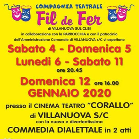 Commedia Dialettale a Villanuova