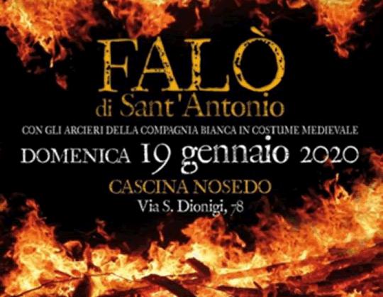 Falò di Sant'Antonio a Milano
