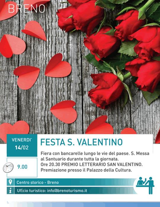 Festa S. Valentino a Breno