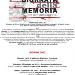 Giornata della Memoria a Toscolano Maderno