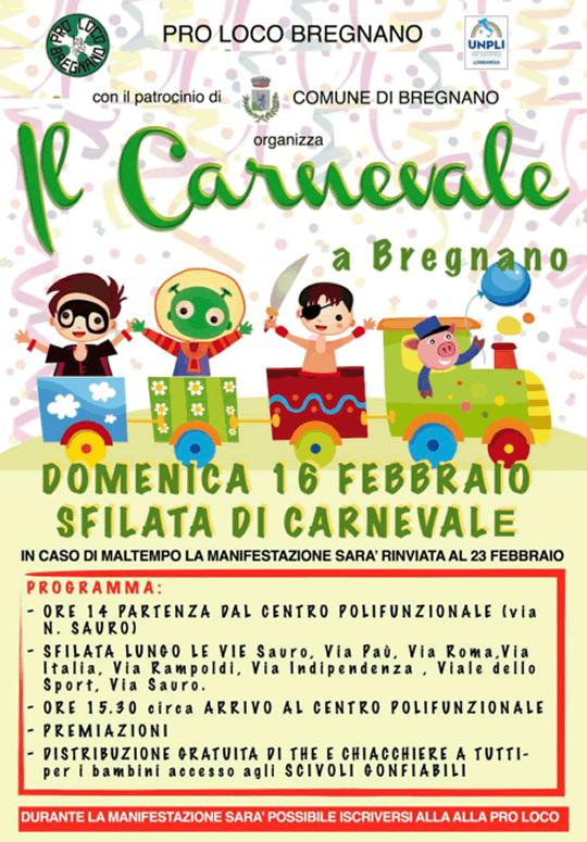 Il Carnevale a Bregnano