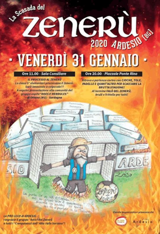 La Scasada Del Zenerù di Ardesio BG