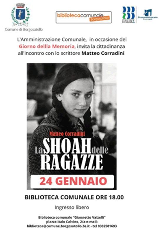 La Shoah delle Ragazze a Borgosatollo