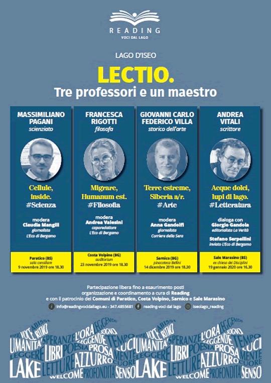 Lectio Lago d'Iseo