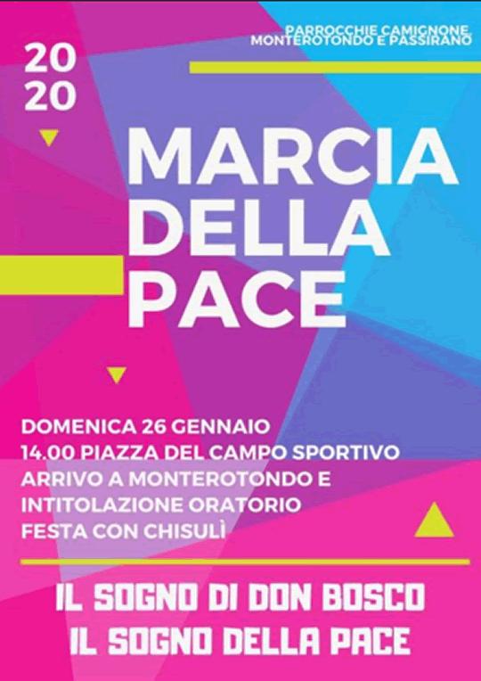 Marcia della Pace a Passirano