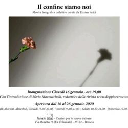 Mostra Fotografica il Confine siamo Noi a Brescia
