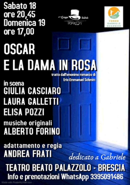 Oscar e la Dama in Rosa a Brescia