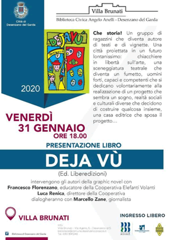 Presentazione del libro Deja Vù a Desenzano del Garda