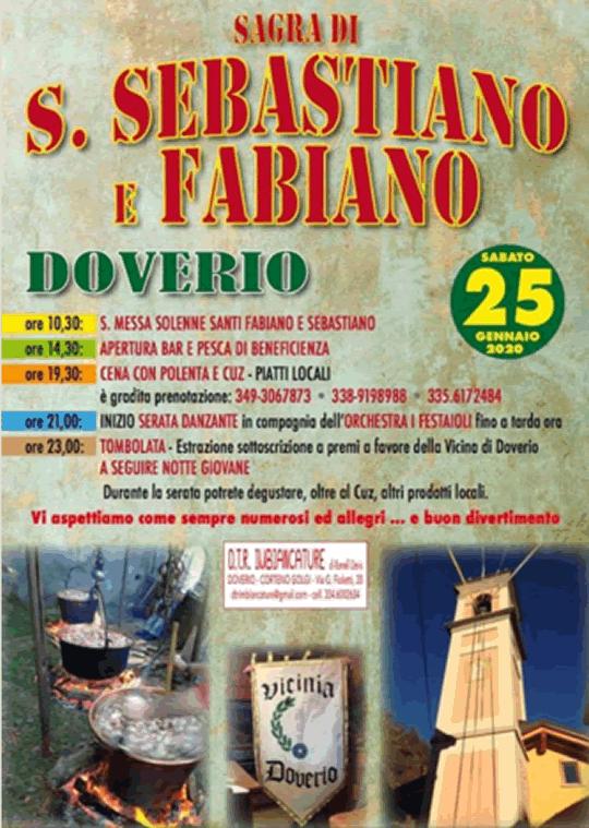 Sagra di S Sebastiano e Fabiano a Corteno Golgi