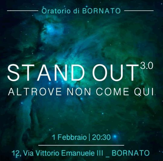 Stand Out 3.0 a Bornato