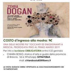 Visita Guidata alla Mostra Zehra Dogan a Brescia