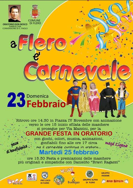 A Flero è Carnevale