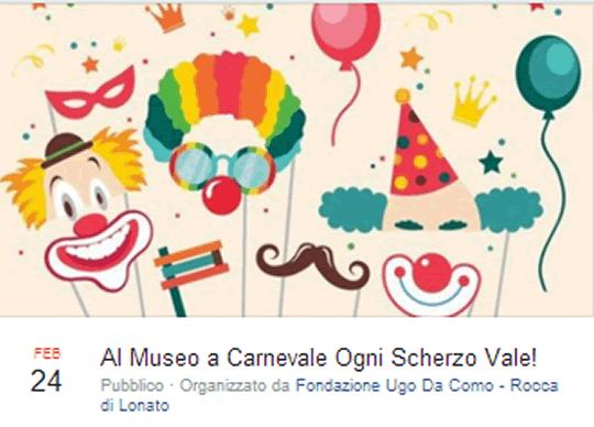 Al Museo a Carnevale ogni Scherzo Vale a Lonato del Garda