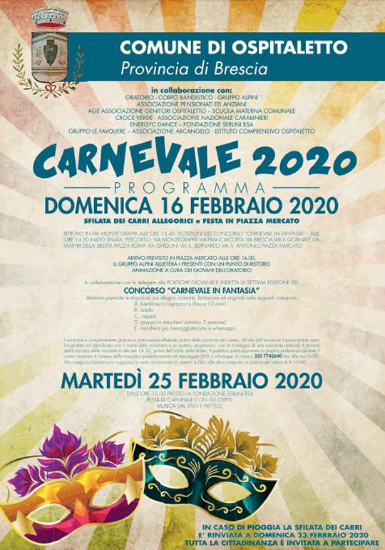 Carnevale 2020 Ospitaletto