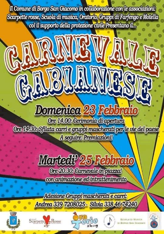 Carnevale Gabianese a Borgo San Giacomo