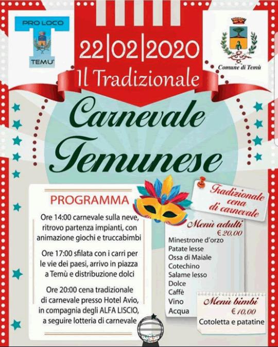 Carnevale Temunese