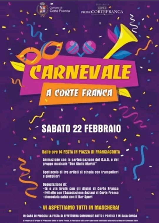 Carnevale a Corte Franca