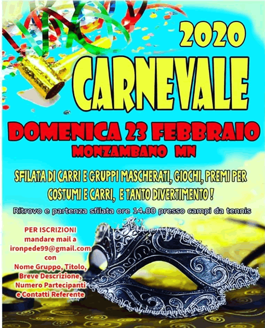 Carnevale a Monzambano MN