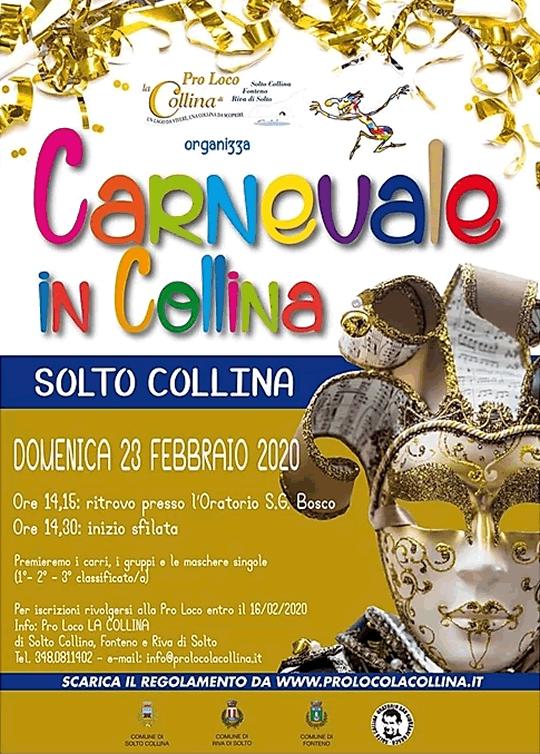 Carnevale in Collina a Solto Collina