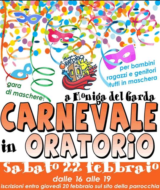 Carnevale in Oratorio a Moniga del Garda