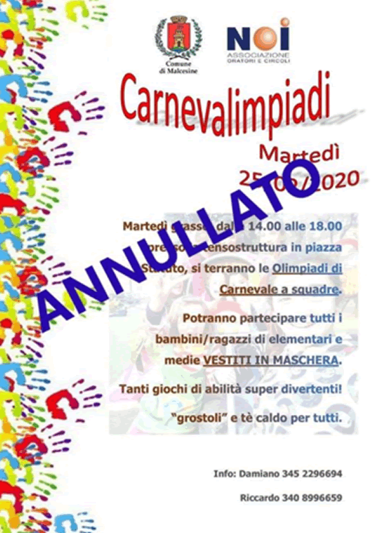 Carnevalimpiadi a Malcesine