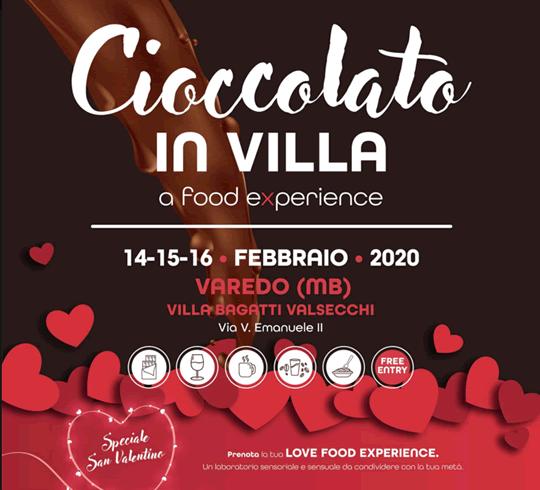 Cioccolato in Villa a Varedo MB