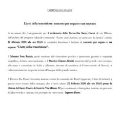 Concerto di Organo e Sax Soprano a Brescia
