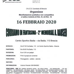 Corriamo in Fantasina a Brescia