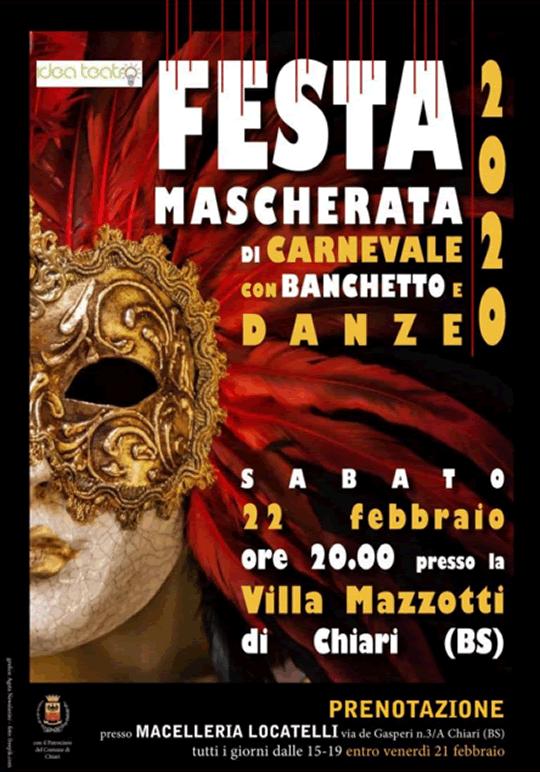 Festa Mascherata di Carnevale a Chiari