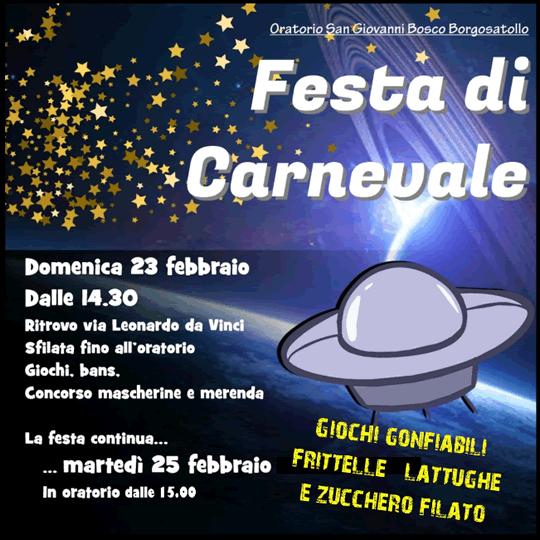 Festa di Carnevale a Borgosatollo