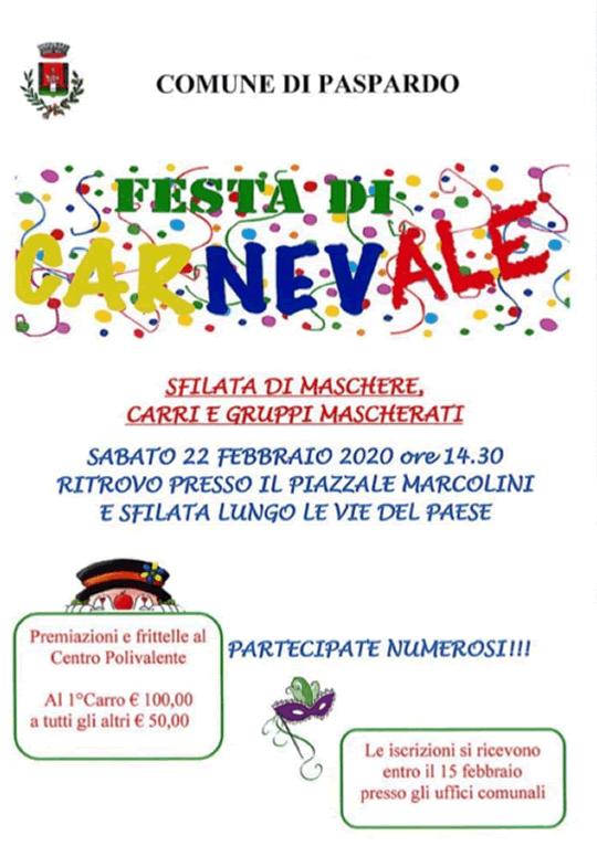 Festa di Carnevale a Paspardo