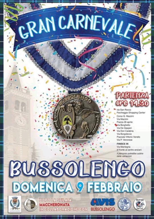 Gran Carnevale a Bussolengo VR