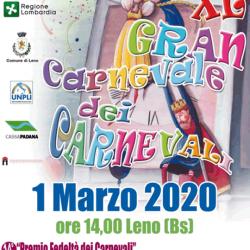 Gran Carnevale dei Carnevali a Leno