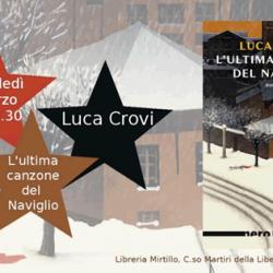 Incontro con l'autore Luca Crovi a Montichiari