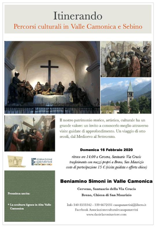 Itinerando  percorsi culturali in Valle Camonica e Sebino