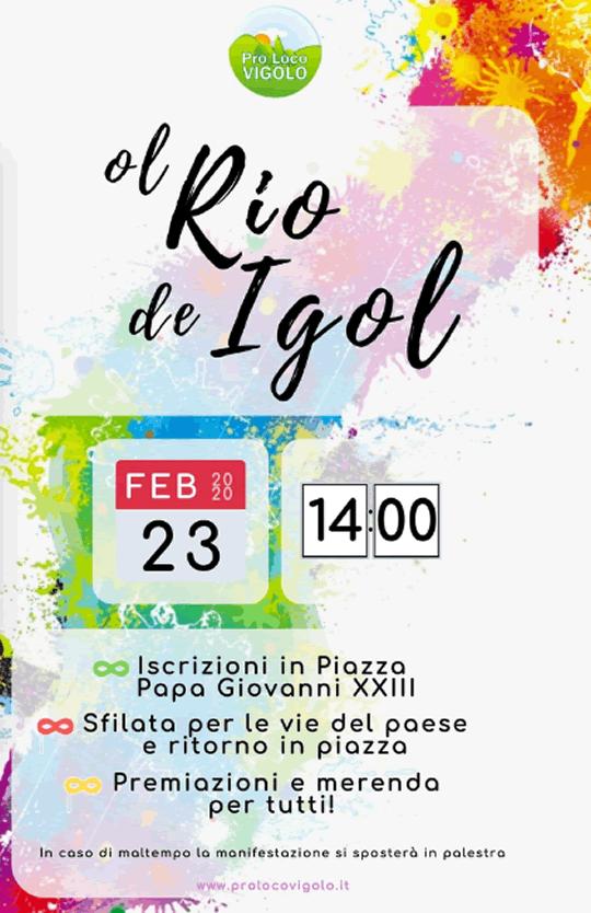 Ol Rio de Igol a Vigolo BG
