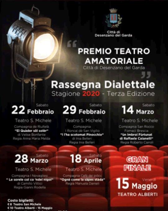 Premio Teatro Amatoriale Rassegna Dialettale a Desenzano del Garda