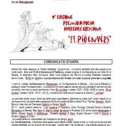 Premio di Poesia Dialettale Bresciana