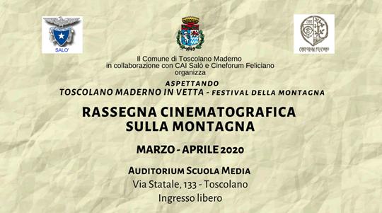 Rassegna Cinematografica sulla Montagna a Toscolano Maderno
