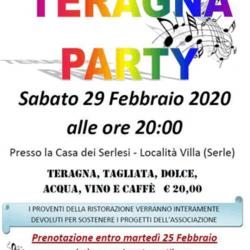 Teragna Party a Serle