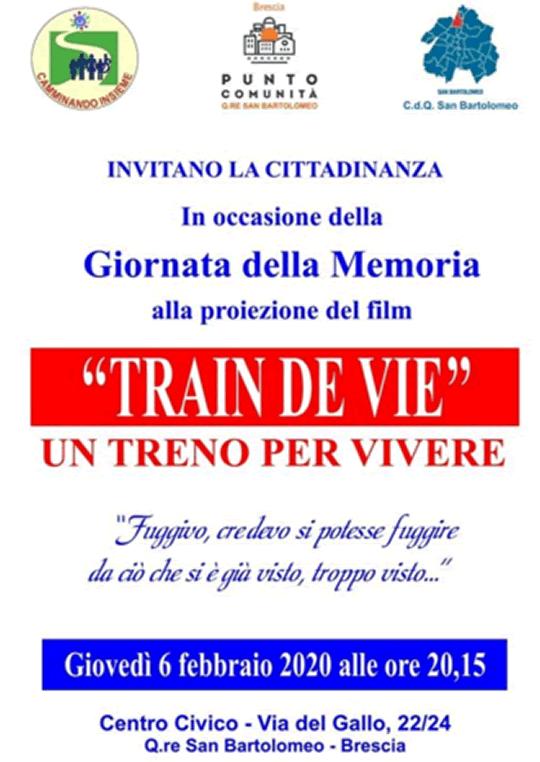 Train de Vie a Brescia
