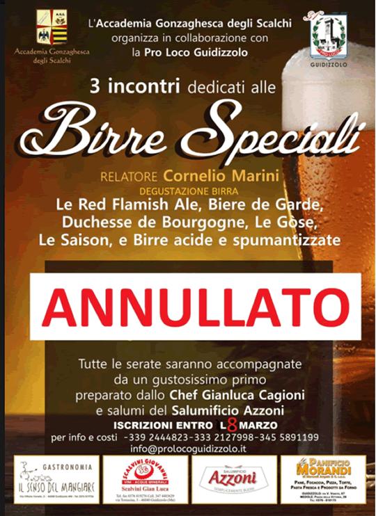 Birre Speciali a Guidizzolo