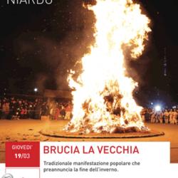 Brucia la Vecchia a Niardo