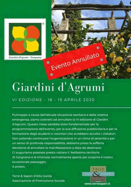 Giardini d'Agrumi a Gargnano