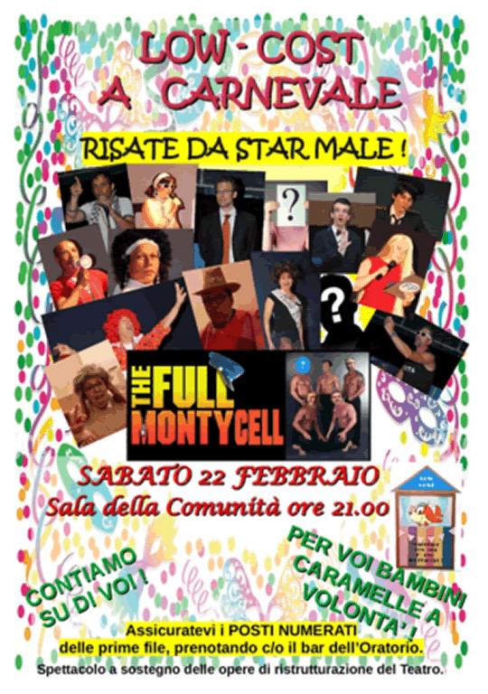 Low Cost di Carnevale a Monticelli Brusati